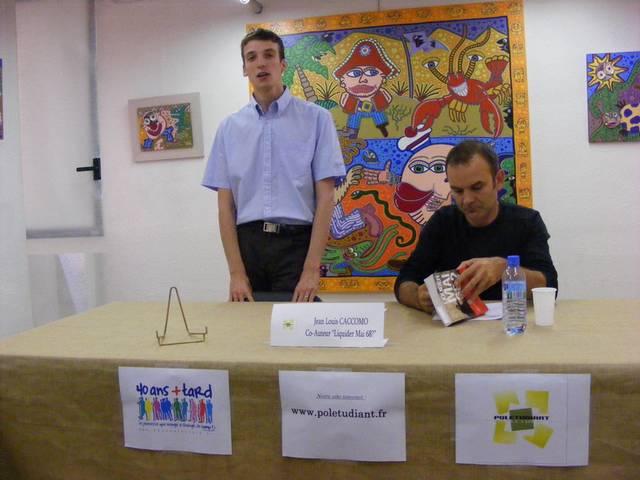 Compte Rendu du débat avec Jean Louis Caccomo dans Pol-Actualite et Politique. intro